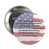 Woodrow Wilson: History of Liberty Button