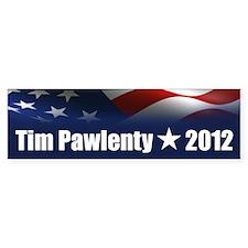 Tim Pawlenty 2012 Bumper Sticker