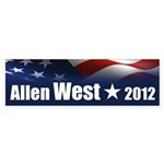 Allen West Sticker (Bumper)