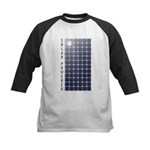 Solar Panel Kids Baseball Jersey