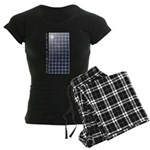 Solar Panel Women's Dark Pajamas