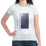 Solar Panel Jr. Ringer T-Shirt