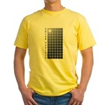 Solar Panel Yellow T-Shirt