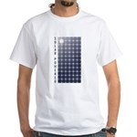 Solar Panel White T-Shirt