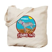 Tripawds Rock - Lottie Tote Bag