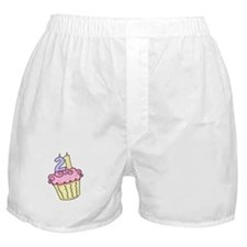 21st Birthday Cupcake Boxer Shorts