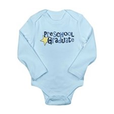 Preschool Graduate Long Sleeve Infant Bodysuit