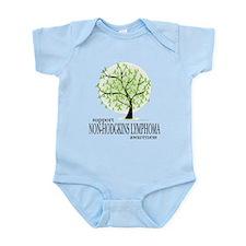 Non-Hodgkins Lymphoma Tree Infant Bodysuit