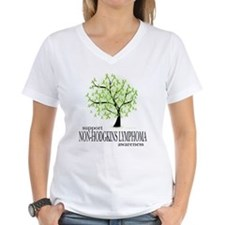 Non-Hodgkins Lymphoma Tree Shirt