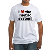 I heart the metric system! Shirt