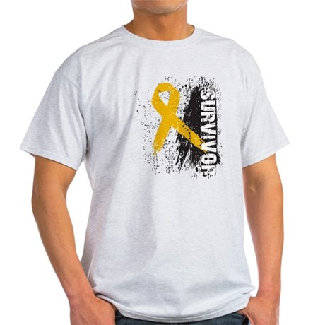 Survivor Appendix Cancer Light T-Shirt