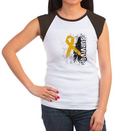 Survivor Appendix Cancer Women's Cap Sleeve T-Shir