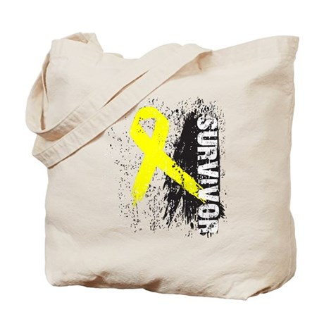 Survivor Bladder Cancer Tote Bag