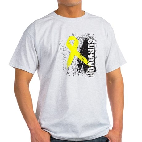 Survivor Bladder Cancer Light T-Shirt