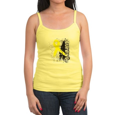 Survivor Bladder Cancer Jr. Spaghetti Tank