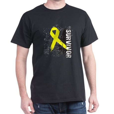 Survivor Bladder Cancer Dark T-Shirt