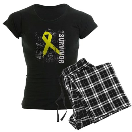 Survivor Bladder Cancer Women's Dark Pajamas