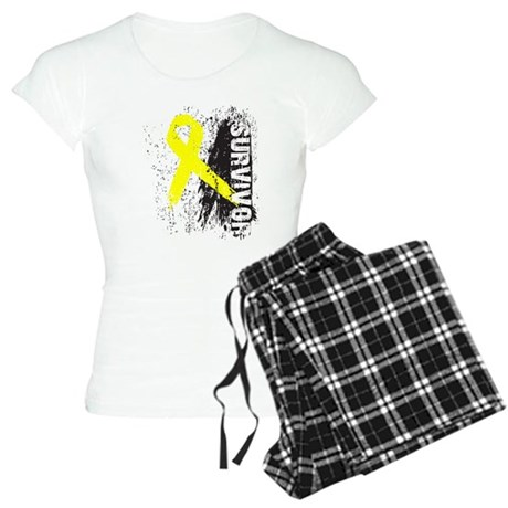 Survivor Bladder Cancer Women's Light Pajamas