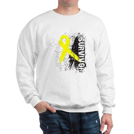 Survivor Bladder Cancer Sweatshirt