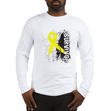 Survivor Bladder Cancer Long Sleeve T-Shirt