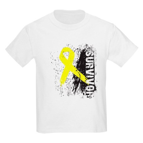 Survivor Bladder Cancer Kids Light T-Shirt
