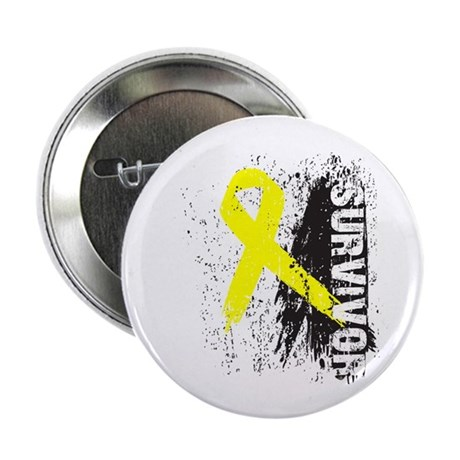 "Survivor Bladder Cancer 2.25"" Button (100 pack)"