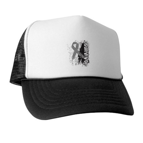 Survivor Brain Cancer Trucker Hat