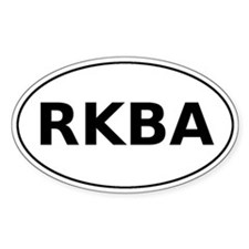 RKBA Oval Decal