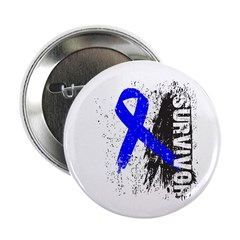 "Survivor Colon Cancer 2.25"" Button (100 pack)"