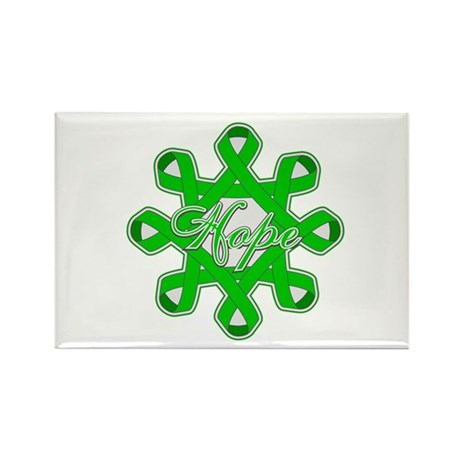 Kidney Cancer Ribbons Rectangle Magnet