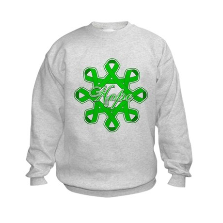 Kidney Cancer Ribbons Kids Sweatshirt