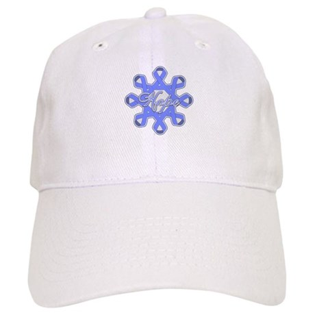 Esophageal Cancer Ribbons Cap
