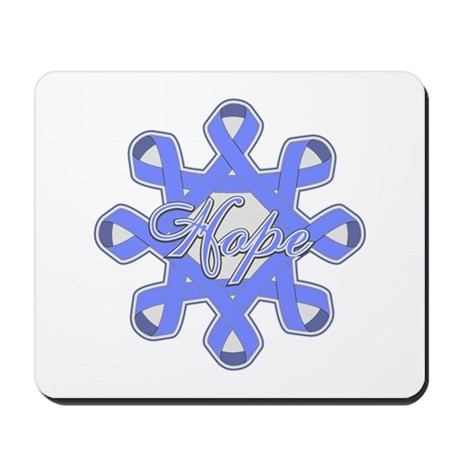 Esophageal Cancer Ribbons Mousepad