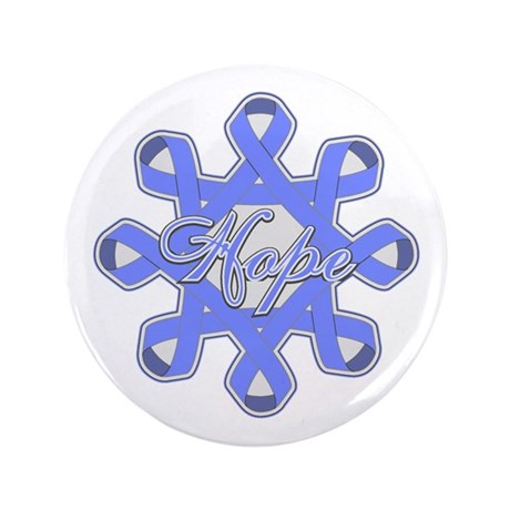 "Esophageal Cancer Ribbons 3.5"" Button (100 pack)"