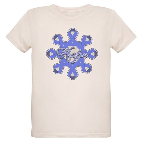 Esophageal Cancer Ribbons Organic Kids T-Shirt