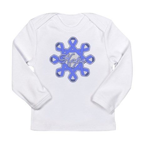 Esophageal Cancer Ribbons Long Sleeve Infant T-Shi