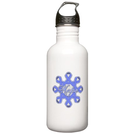 Esophageal Cancer Ribbons Stainless Water Bottle 1