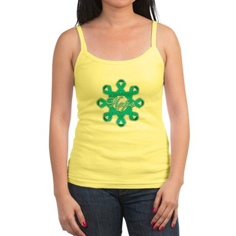 Ovarian Cancer Ribbons Jr. Spaghetti Tank
