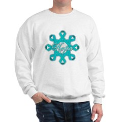 Ovarian Cancer Ribbons Sweatshirt
