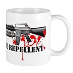 Zombie Repellent Dark Shirts Mug