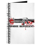 Zombie Repellent Dark Shirts Journal