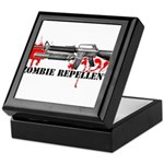 Zombie Repellent Dark Shirts Keepsake Box