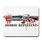 Zombie Repellent Dark Shirts Mousepad