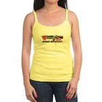 Zombie Repellent Dark Shirts Jr. Spaghetti Tank