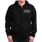 Zombie Repellent Dark Shirts Zip Hoodie (dark)