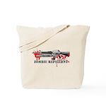 Zombie Repellent Dark Shirts Tote Bag