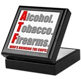 ATF Humor Keepsake Box