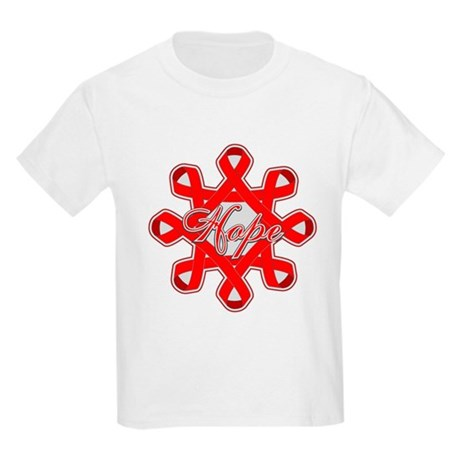 Blood Cancer Ribbons Kids Light T-Shirt
