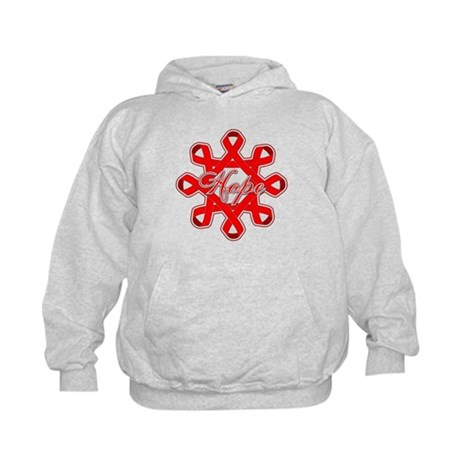 Blood Cancer Ribbons Kids Hoodie