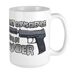 HK USP Handgun Silencer Large Mug